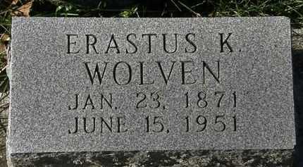 WOLVEN, ERASTUS K. - Erie County, Ohio | ERASTUS K. WOLVEN - Ohio Gravestone Photos