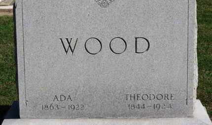WOOD, THEODORE - Erie County, Ohio | THEODORE WOOD - Ohio Gravestone Photos