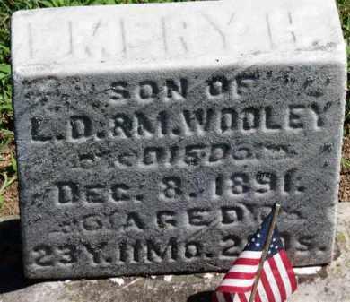 WOOLEY, L.D. - Erie County, Ohio | L.D. WOOLEY - Ohio Gravestone Photos