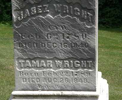 WRIGHT, TAMAR - Erie County, Ohio | TAMAR WRIGHT - Ohio Gravestone Photos