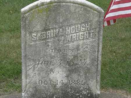 WRIGHT, SABRINA - Erie County, Ohio | SABRINA WRIGHT - Ohio Gravestone Photos
