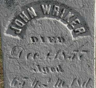 WRIKER, JOHN - Erie County, Ohio | JOHN WRIKER - Ohio Gravestone Photos