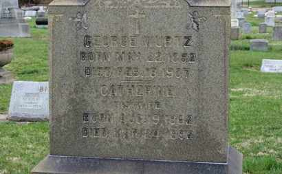 WURTZ, CATHERINE - Erie County, Ohio | CATHERINE WURTZ - Ohio Gravestone Photos