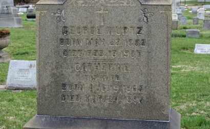 WURTZ, GEORGE - Erie County, Ohio | GEORGE WURTZ - Ohio Gravestone Photos