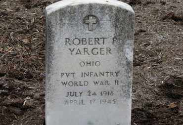 YARGER, ROBERT F. - Erie County, Ohio | ROBERT F. YARGER - Ohio Gravestone Photos