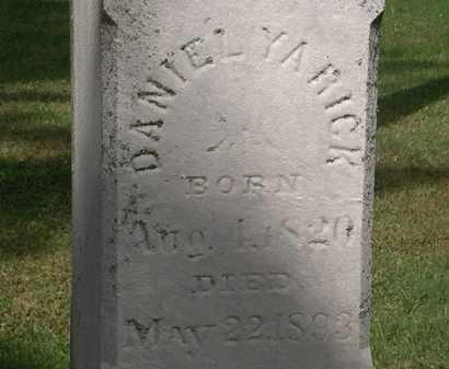 YARICK, DANIEL - Erie County, Ohio | DANIEL YARICK - Ohio Gravestone Photos