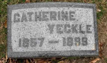YECKLE, CATHERINE - Erie County, Ohio | CATHERINE YECKLE - Ohio Gravestone Photos