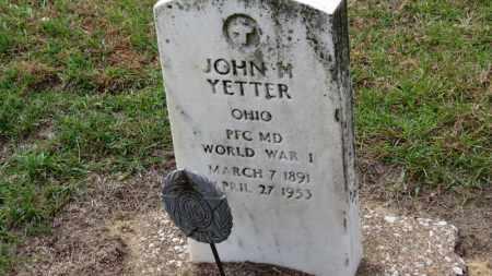 YETTER, JOHN M. - Erie County, Ohio | JOHN M. YETTER - Ohio Gravestone Photos