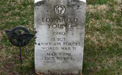 YOUNG, EDWARD D. - Erie County, Ohio | EDWARD D. YOUNG - Ohio Gravestone Photos