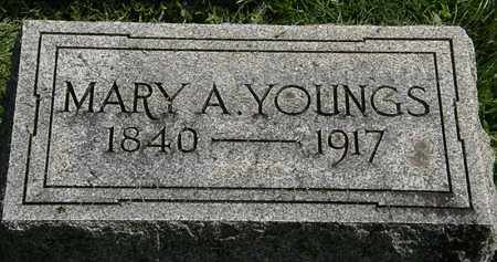 YOUNGS, MARY A. - Erie County, Ohio | MARY A. YOUNGS - Ohio Gravestone Photos