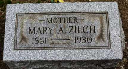 ZILCH, MARY A. - Erie County, Ohio | MARY A. ZILCH - Ohio Gravestone Photos