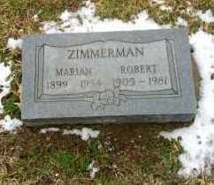 ZIMMERMAN, ROBERT G - Erie County, Ohio | ROBERT G ZIMMERMAN - Ohio Gravestone Photos