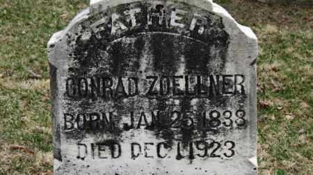 ZOELLNER, CONRAD - Erie County, Ohio | CONRAD ZOELLNER - Ohio Gravestone Photos