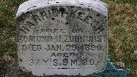 KEECH ZURHORST, HARRIET - Erie County, Ohio | HARRIET KEECH ZURHORST - Ohio Gravestone Photos