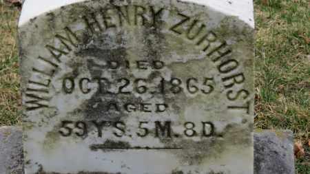 ZURHORST, WILLIAM HENRY - Erie County, Ohio   WILLIAM HENRY ZURHORST - Ohio Gravestone Photos