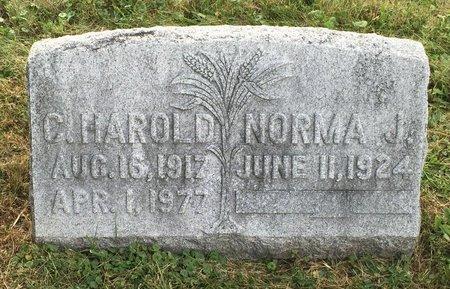?, NORMA J. - Fairfield County, Ohio | NORMA J. ? - Ohio Gravestone Photos