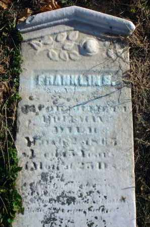 ?, FRANKLIN S. - Fairfield County, Ohio | FRANKLIN S. ? - Ohio Gravestone Photos