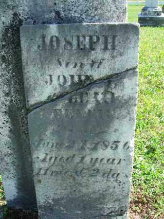 ?, JOSEPH - Fairfield County, Ohio | JOSEPH ? - Ohio Gravestone Photos