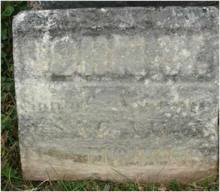 ?, JOHN W. - Fairfield County, Ohio   JOHN W. ? - Ohio Gravestone Photos