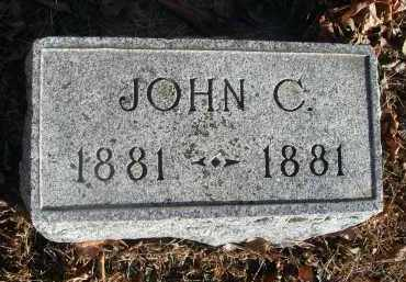 ?, JOHN C. - Fairfield County, Ohio | JOHN C. ? - Ohio Gravestone Photos