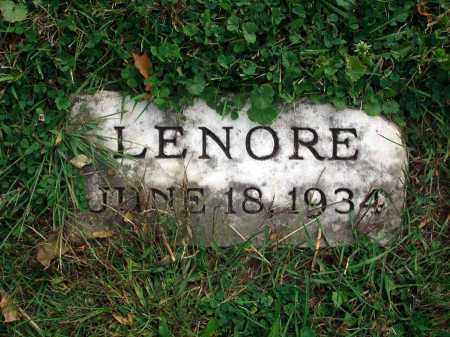 ?, LENORE - Fairfield County, Ohio | LENORE ? - Ohio Gravestone Photos