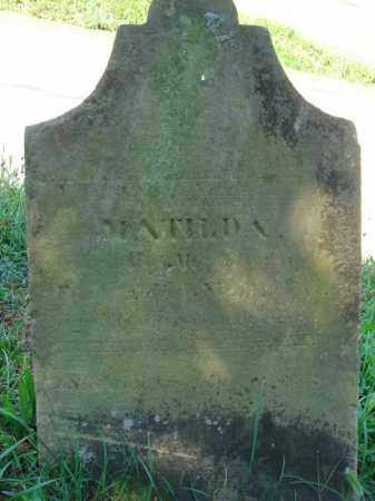 ?, MATILDA - Fairfield County, Ohio | MATILDA ? - Ohio Gravestone Photos