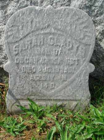 ?, SARAH GLADYS - Fairfield County, Ohio | SARAH GLADYS ? - Ohio Gravestone Photos