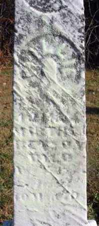?, WILLIE - Fairfield County, Ohio | WILLIE ? - Ohio Gravestone Photos