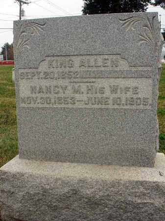 ALLEN, NANCY - Fairfield County, Ohio | NANCY ALLEN - Ohio Gravestone Photos