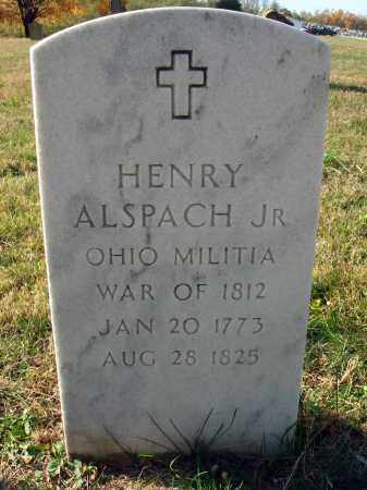 ALSPACH, HENRY, JR. - Fairfield County, Ohio | HENRY, JR. ALSPACH - Ohio Gravestone Photos