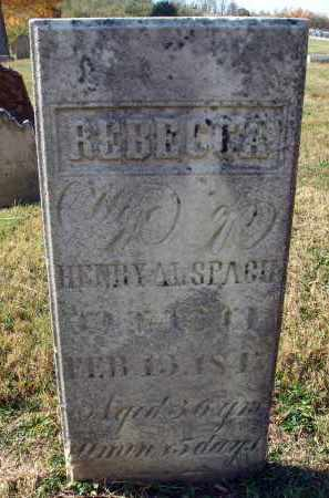 ALSPACH, REBECCA - Fairfield County, Ohio | REBECCA ALSPACH - Ohio Gravestone Photos