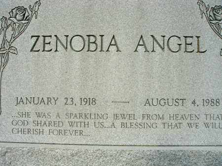 ANGEL, ZENOBIA - Fairfield County, Ohio | ZENOBIA ANGEL - Ohio Gravestone Photos