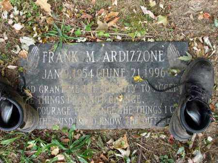 ARDIZZONE, FRANK M. - Fairfield County, Ohio | FRANK M. ARDIZZONE - Ohio Gravestone Photos