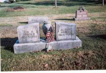 ARNOLD, IDA A. - Fairfield County, Ohio | IDA A. ARNOLD - Ohio Gravestone Photos