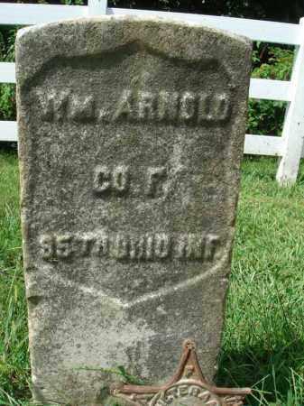 ARNOLD, WM. - Fairfield County, Ohio | WM. ARNOLD - Ohio Gravestone Photos