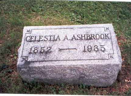 ASHBROOK, CELESTIA A. - Fairfield County, Ohio | CELESTIA A. ASHBROOK - Ohio Gravestone Photos