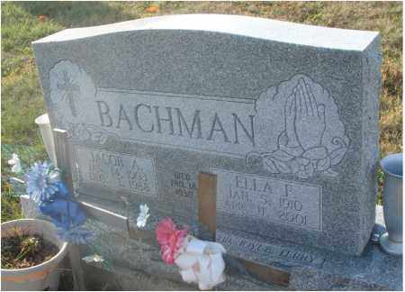 NORRIS BACHMAN, ELLA F. - Fairfield County, Ohio | ELLA F. NORRIS BACHMAN - Ohio Gravestone Photos