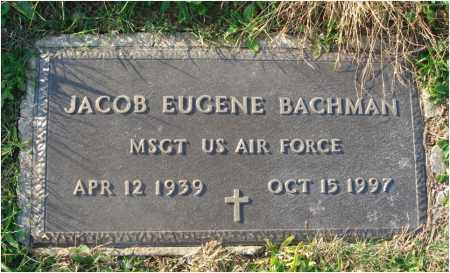 BACHMAN, JACOB EUGENE - Fairfield County, Ohio | JACOB EUGENE BACHMAN - Ohio Gravestone Photos