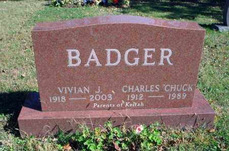 "BADGER, CHARLES ""CHUCK"" - Fairfield County, Ohio 