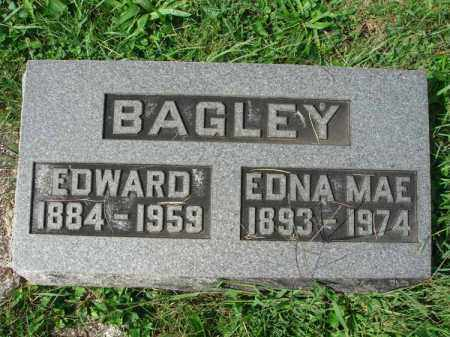 BAGLEY, EDNA MAE - Fairfield County, Ohio | EDNA MAE BAGLEY - Ohio Gravestone Photos