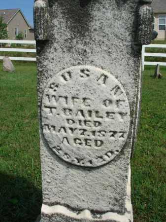 BAILEY, SUSAN - Fairfield County, Ohio | SUSAN BAILEY - Ohio Gravestone Photos
