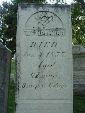 BAIRD, WILLLIAM - Fairfield County, Ohio | WILLLIAM BAIRD - Ohio Gravestone Photos
