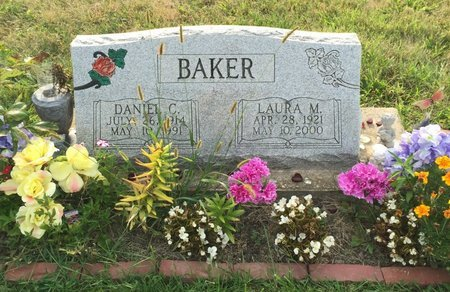 BAKER, DANIEL C. - Fairfield County, Ohio | DANIEL C. BAKER - Ohio Gravestone Photos
