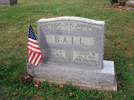 BALL, CURTIS B. - Fairfield County, Ohio | CURTIS B. BALL - Ohio Gravestone Photos