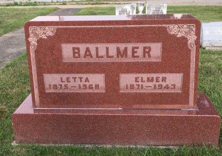 BALLMER, LETTA - Fairfield County, Ohio | LETTA BALLMER - Ohio Gravestone Photos