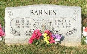 BARNES, RONALD L. - Fairfield County, Ohio | RONALD L. BARNES - Ohio Gravestone Photos