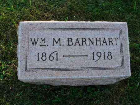 BARNHART, WILLIAM M. - Fairfield County, Ohio | WILLIAM M. BARNHART - Ohio Gravestone Photos