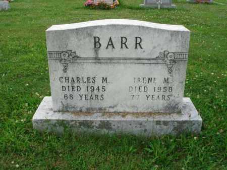 BARR, IRENE M. - Fairfield County, Ohio | IRENE M. BARR - Ohio Gravestone Photos