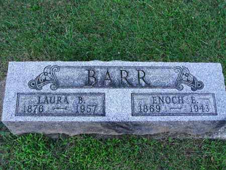 BARR, ENOCH E. - Fairfield County, Ohio | ENOCH E. BARR - Ohio Gravestone Photos