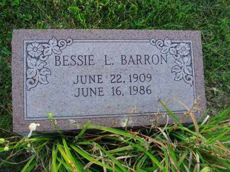 BARRON, BESSIE L. - Fairfield County, Ohio | BESSIE L. BARRON - Ohio Gravestone Photos